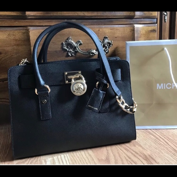 772d37ac5c5a  298 Michael Kors Hamilton Handbag MK Bag Purse